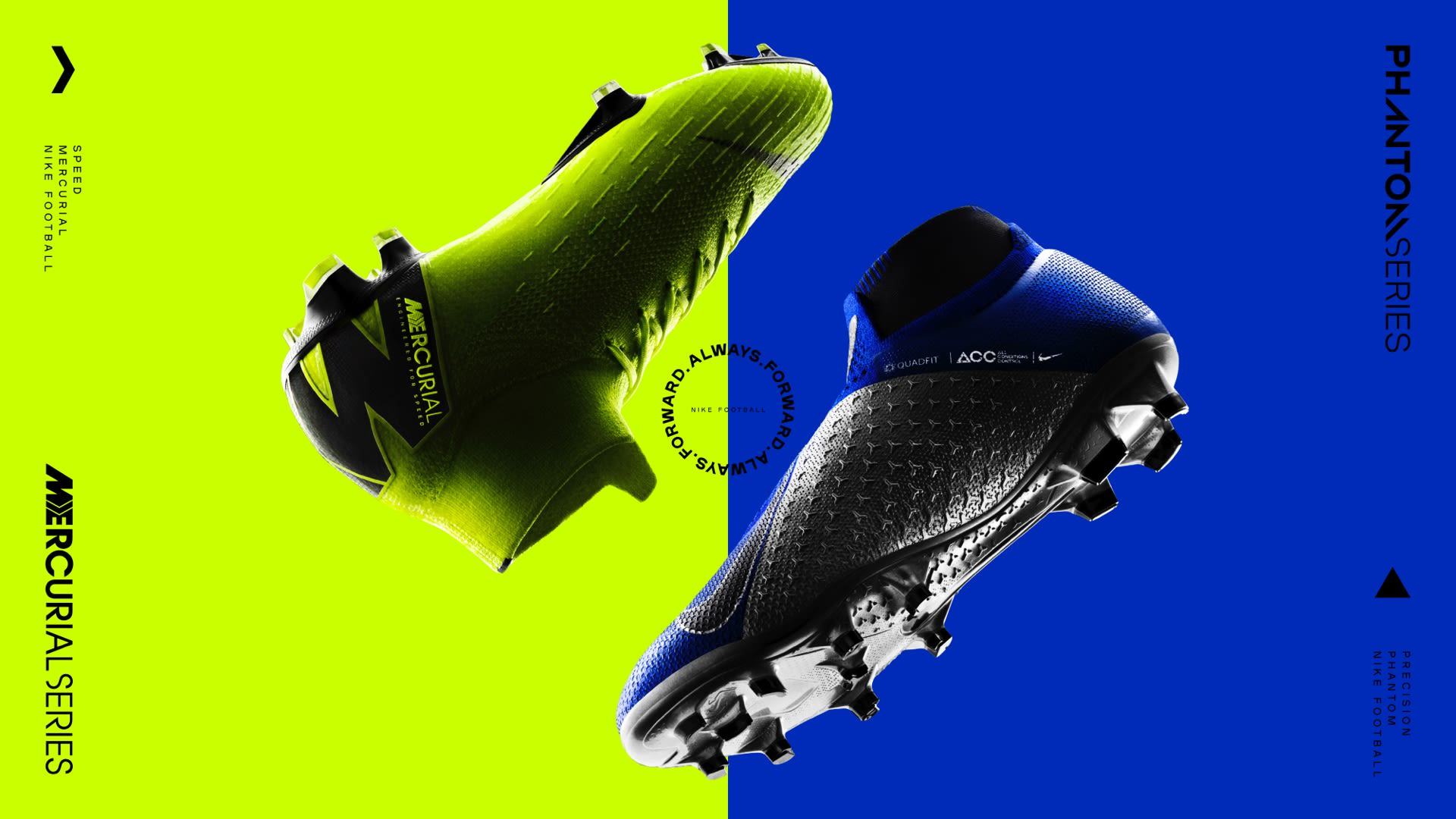 sports shoes f4219 1c21c Nike Football. Always Forward Firm-Ground Soccer Cleats