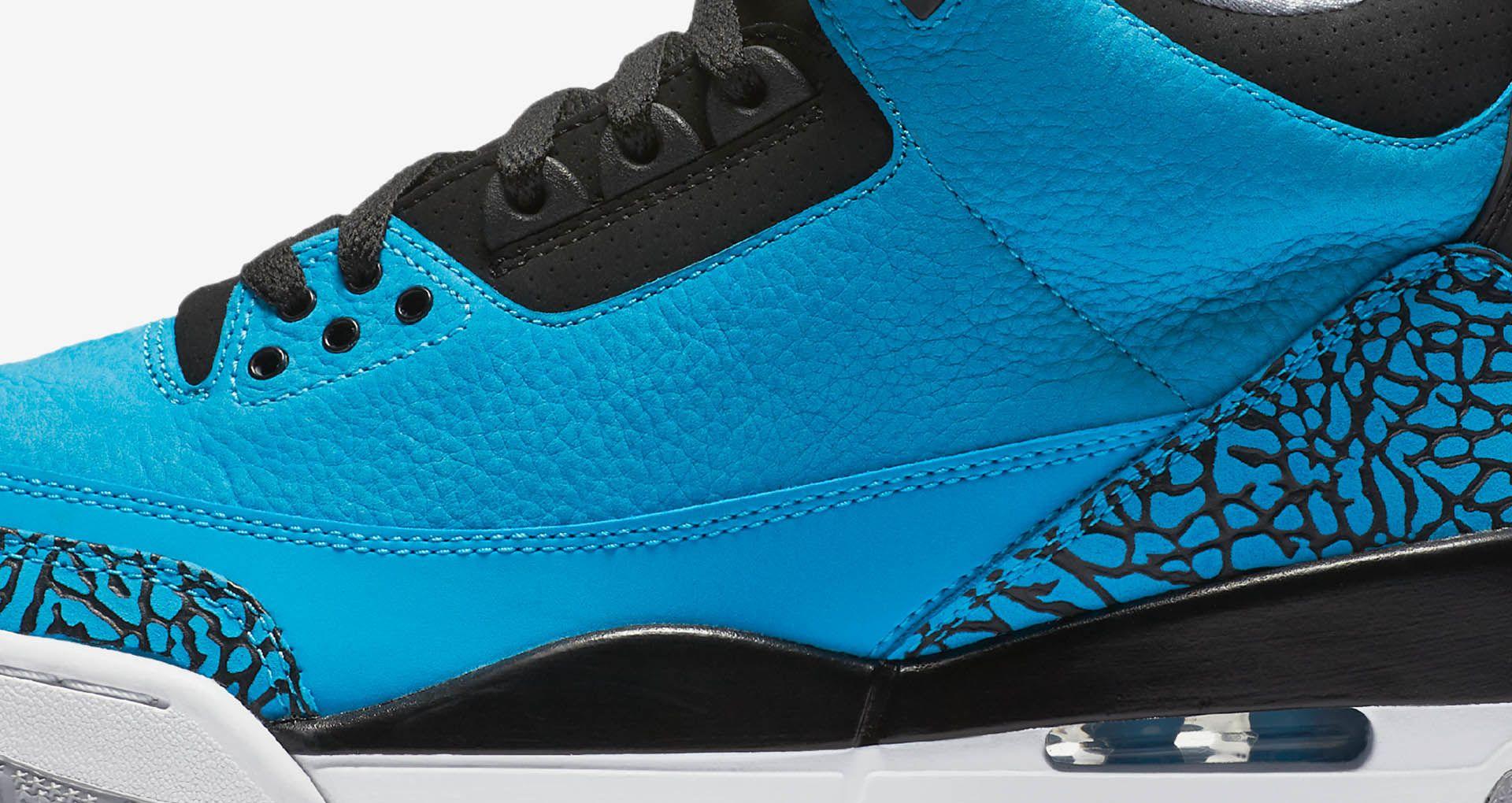 the latest 562c9 19a55 Air Jordan 3 Retro  Powder Blue .