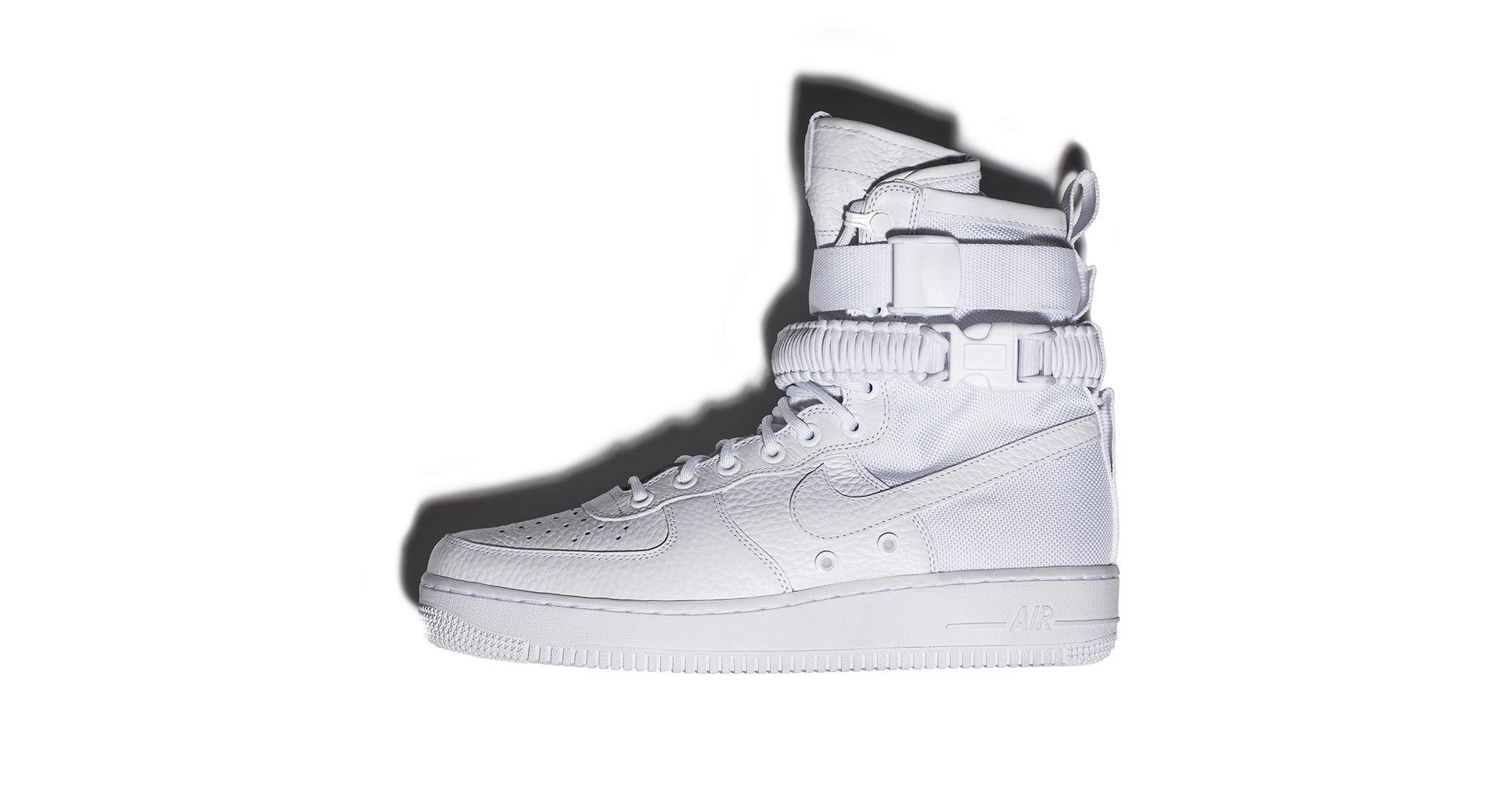 Inside The Vault: White on White Morphology. Nike SNKRS