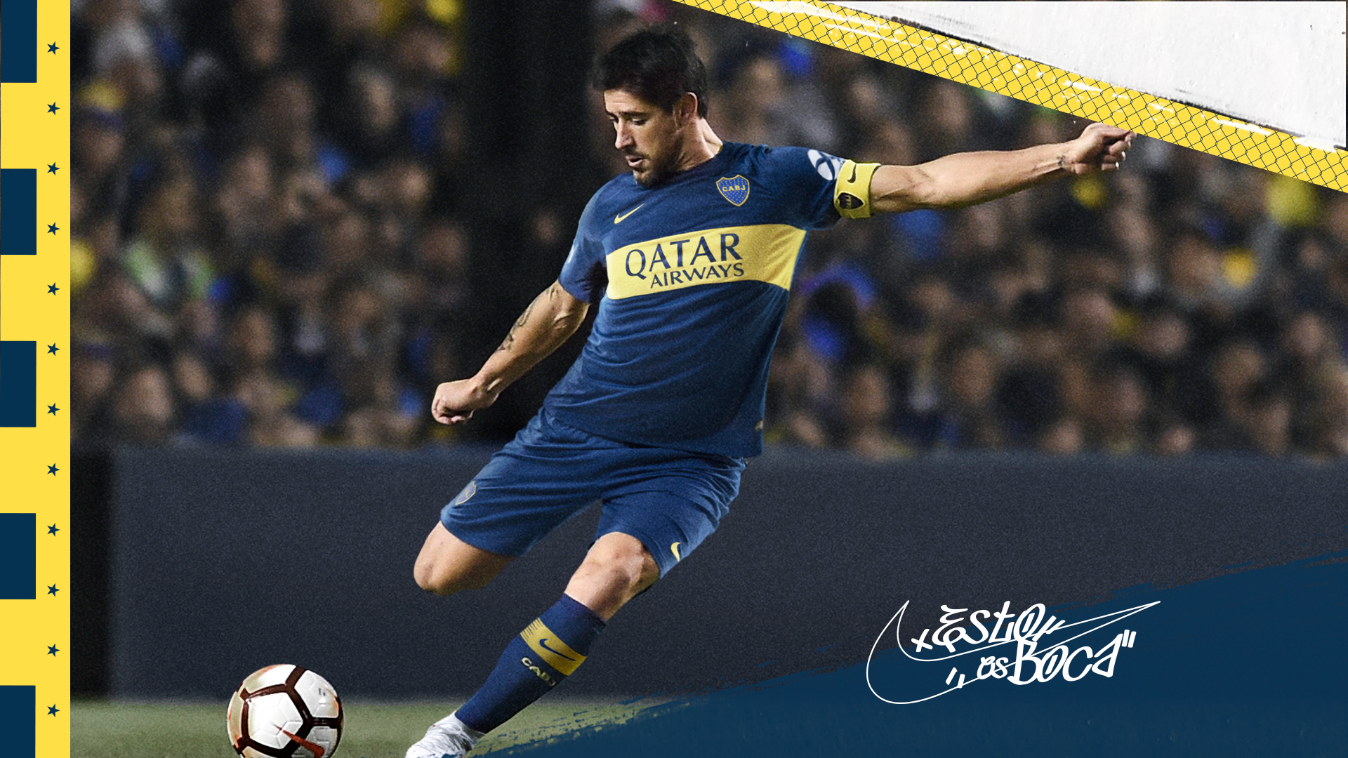 separation shoes 606f7 78800 Boca Juniors Home Stadium Shirt. Nike.com GB