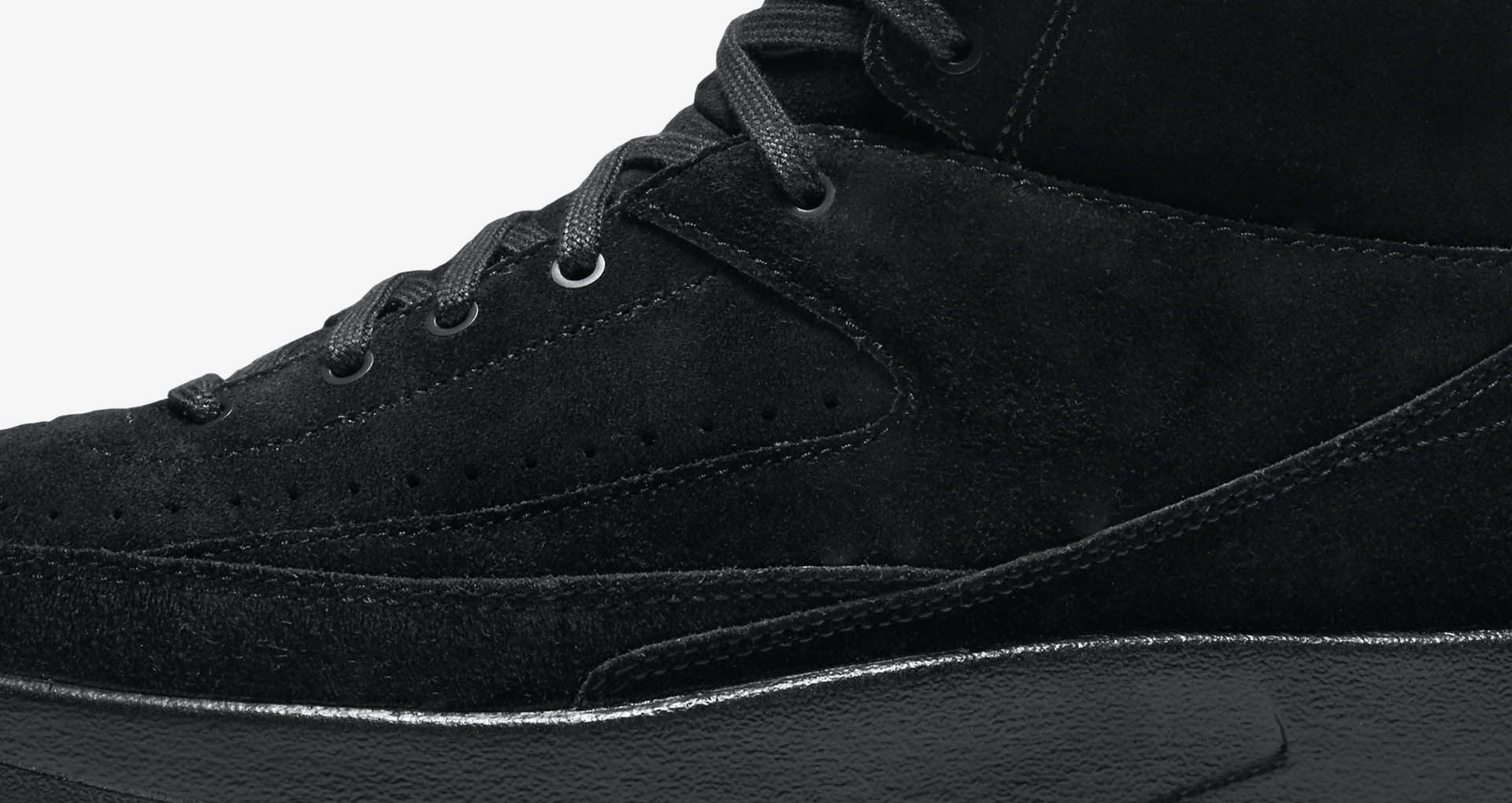 Air Jordan 2 Retro Decon 'Triple Black' Release Date. Nike SNKRS
