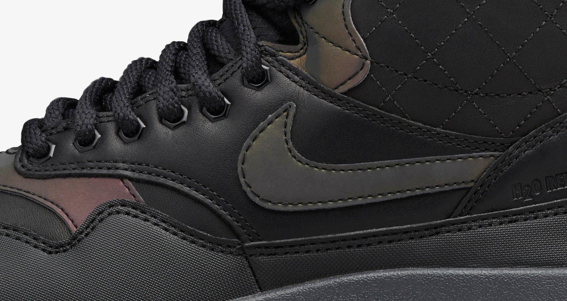 Women's Nike Air Max 1 Sneakerboot 'Black & Menta'. Nike+ SNKRS