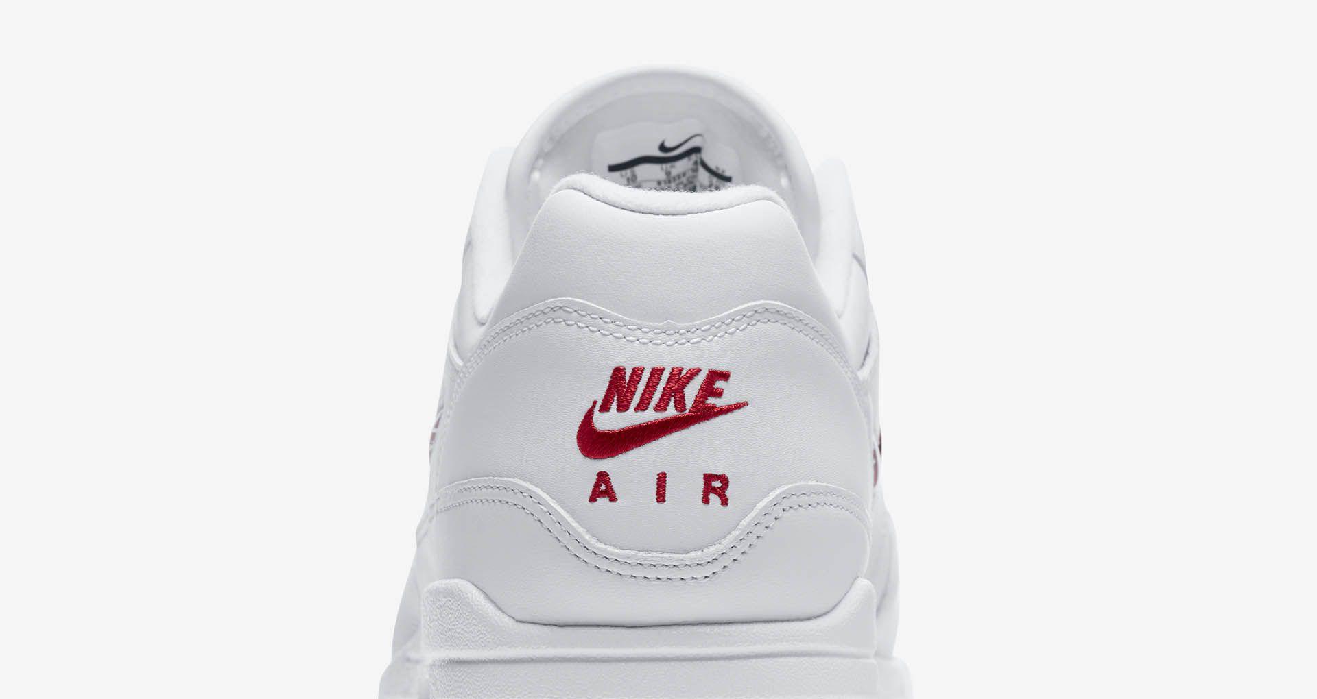 Nike Air Max 1 Premium SC WhiteUniversity Red For Sale