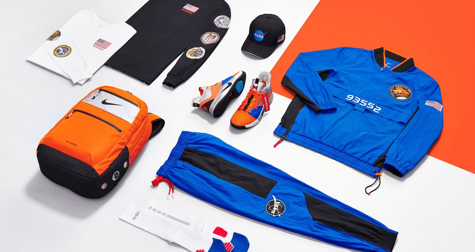 Erfahre mehr über das Design: PG3 X NASA. Nike SNEAKRS DE