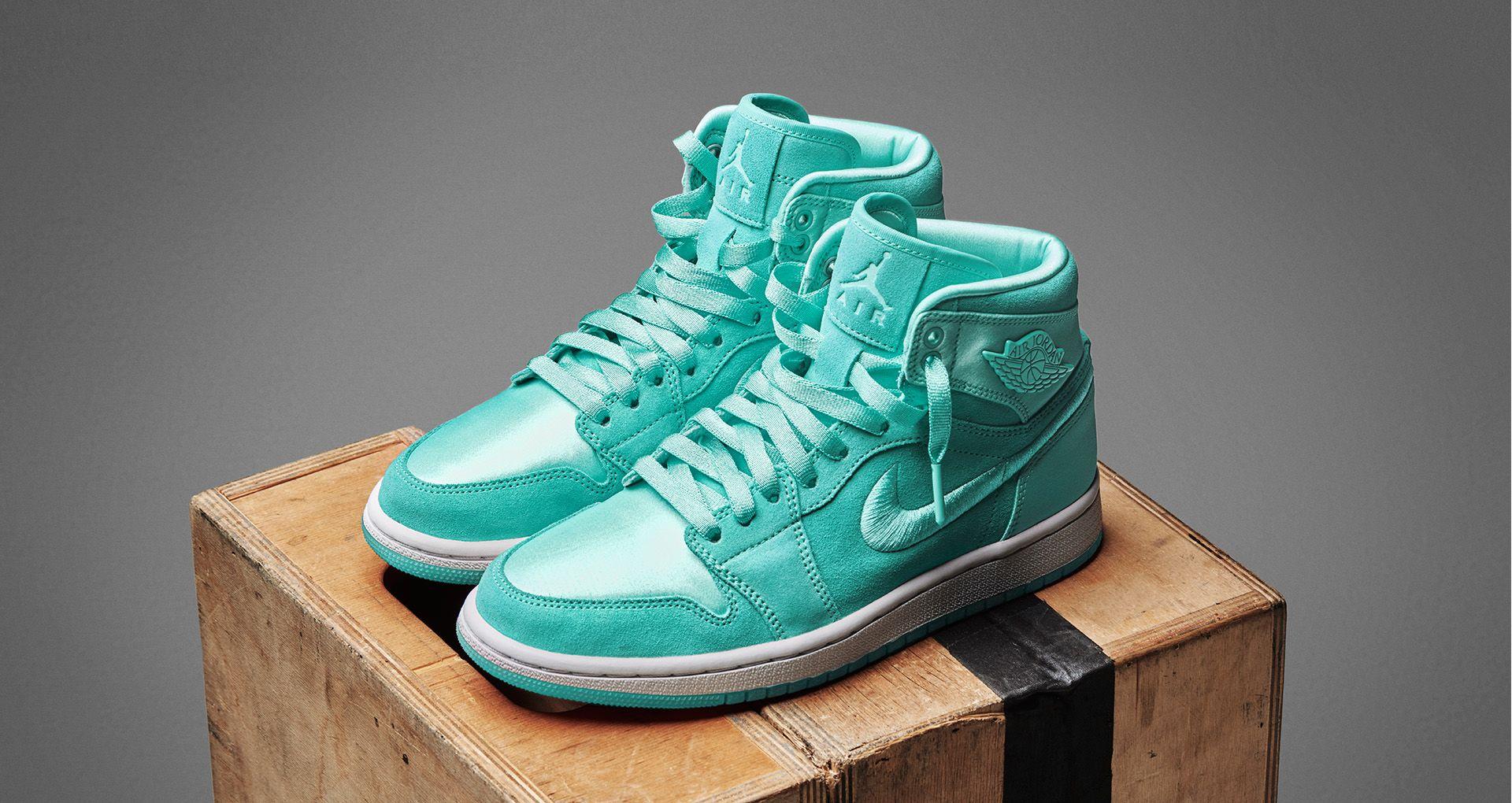 Women s Air Jordan 1 Retro High  Light Aqua  Release Date. Nike+ SNKRS 811a88a67f