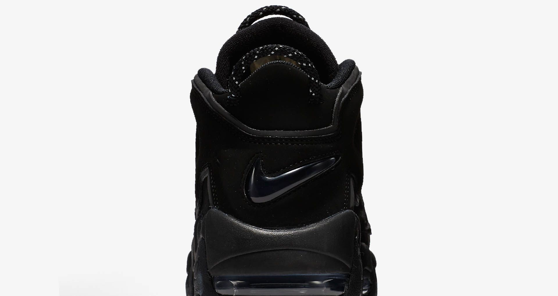 the latest 3a625 32276 Nike Air More Uptempo 'Triple Black' 2017. Nike+ Launch GB