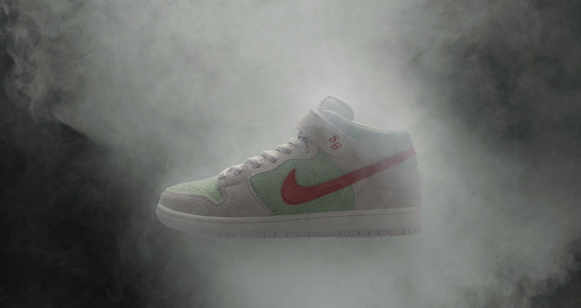 size 40 2fa63 41f6a Nike SB Dunk Mid Pro Todd Bratrud  White Widow  Release Date. Nike+ ...