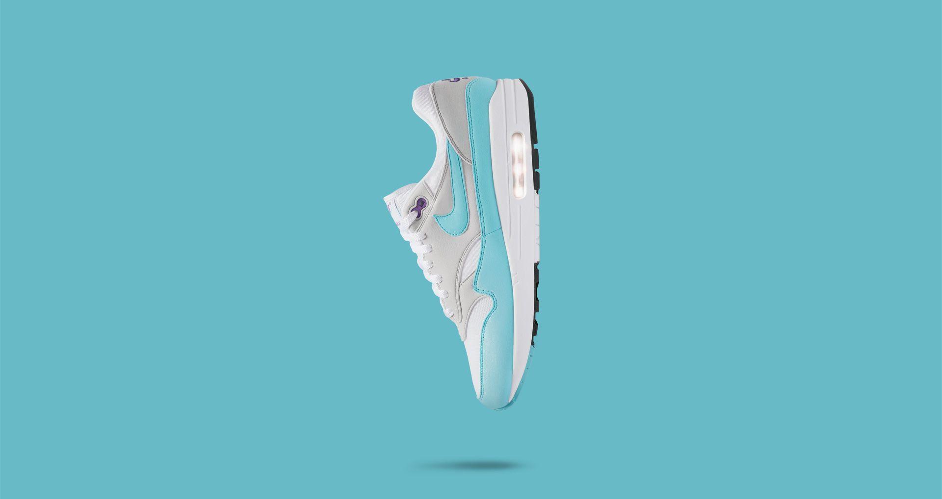 cbfbc608aa Nike Air Max 1 Anniversary 'White & Aqua' Release Date. Nike+ ...