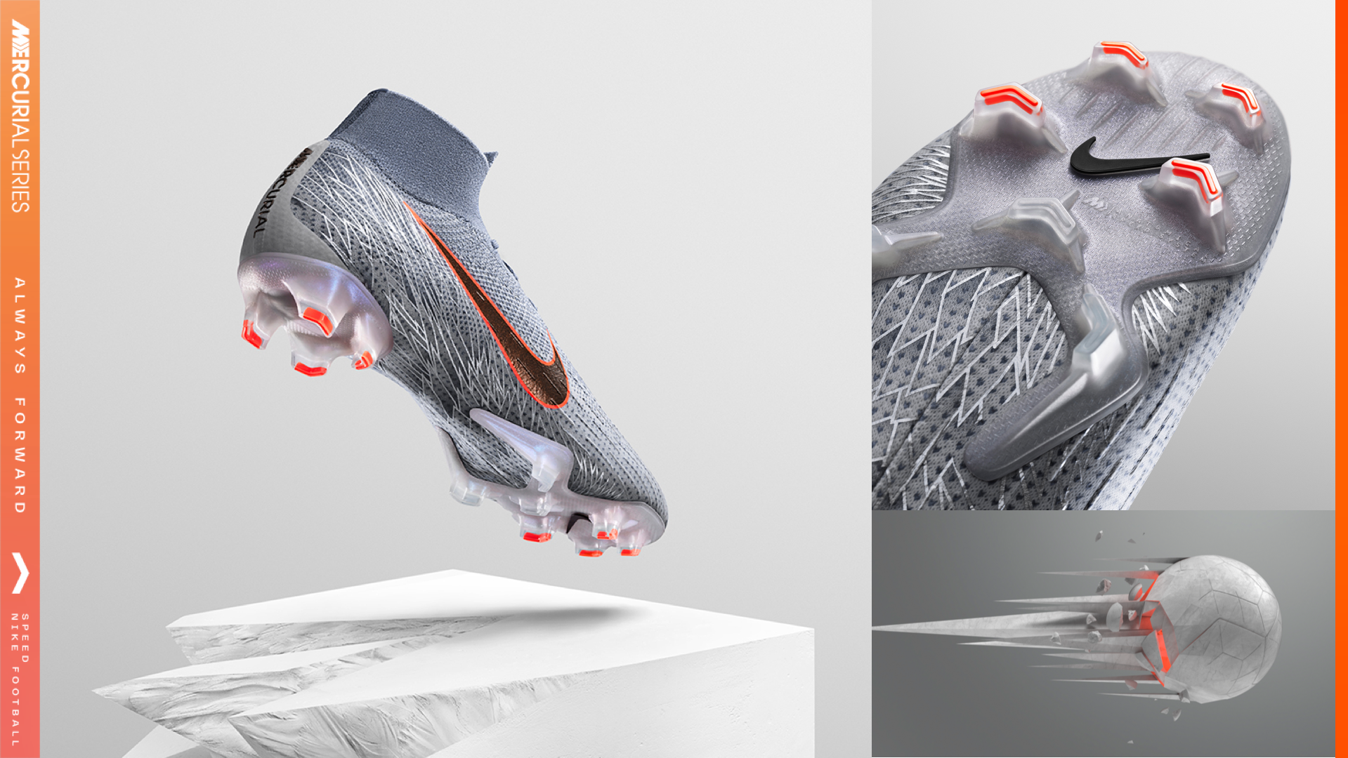 buy online 63536 50706 Goddess of Victory' Mercurial Series. Nike.com