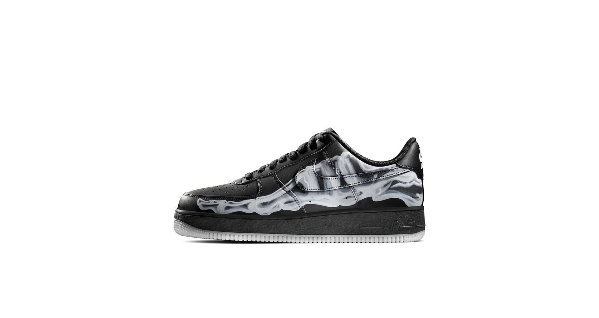 Air Force 1 Skeleton 'Black' Release Date. Nike SNKRS