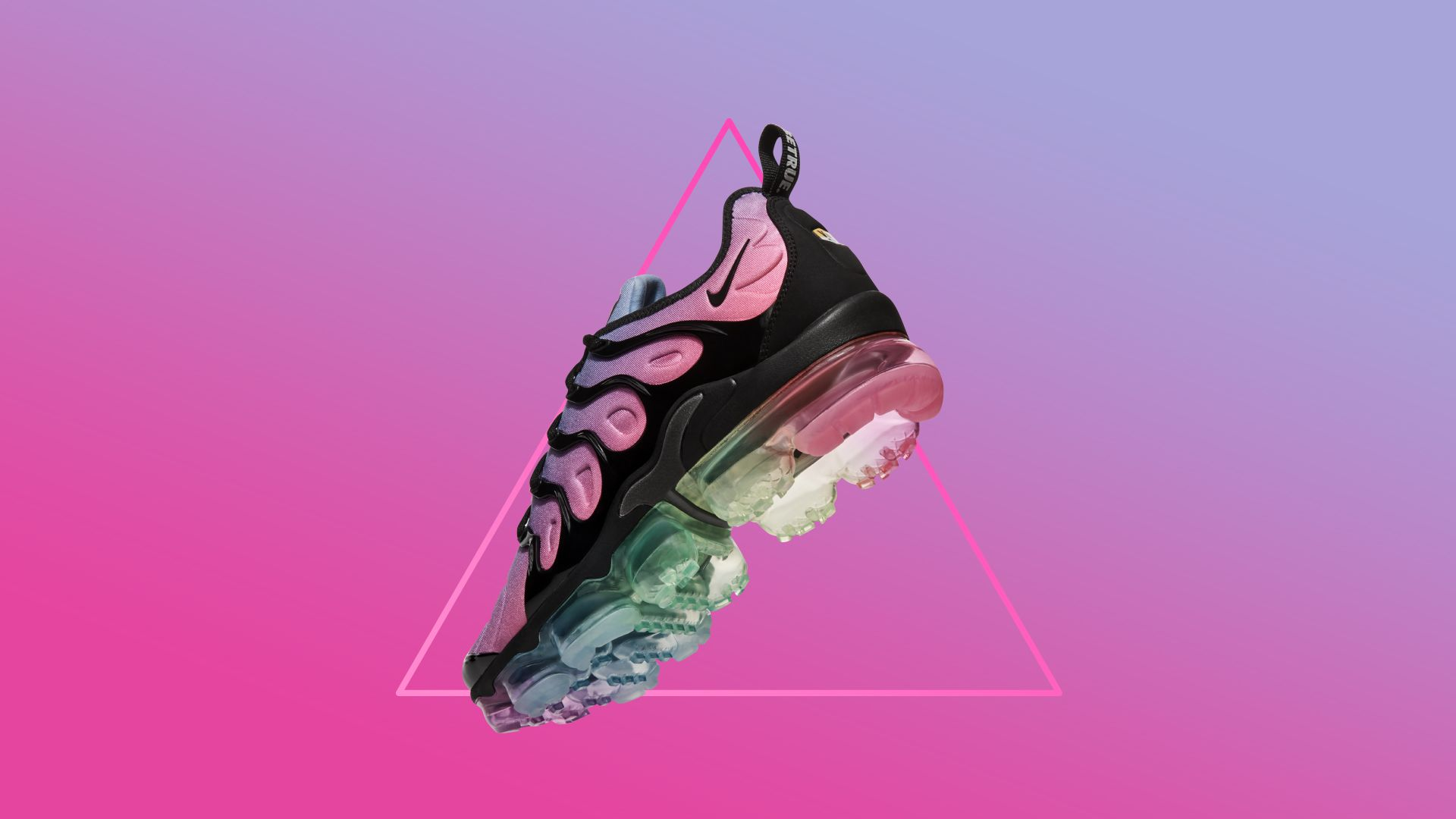 new arrival a42b0 2399a Nike Air Vapormax Plus Betrue 'Black & Multicolor' Release ...