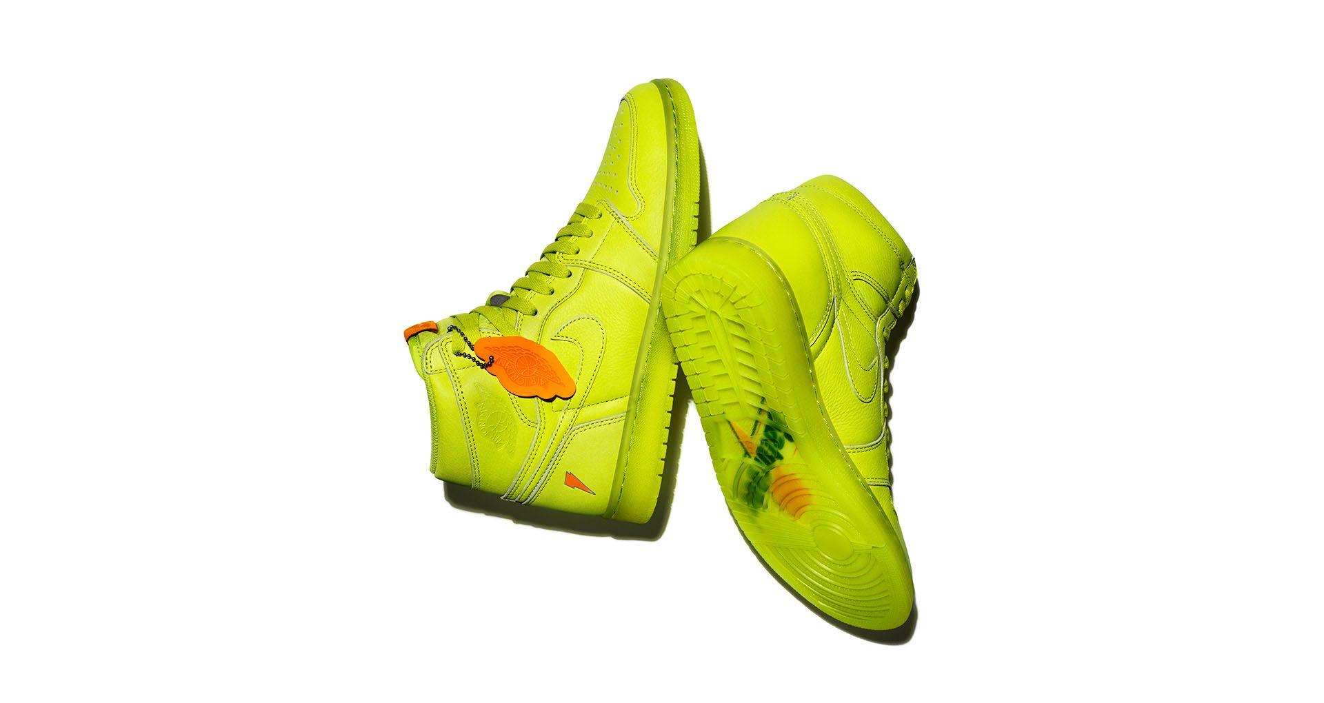 1d2fb9101f49 Air Jordan 1 High Gatorade  Lemon-Lime  Release Date. Nike+ SNKRS