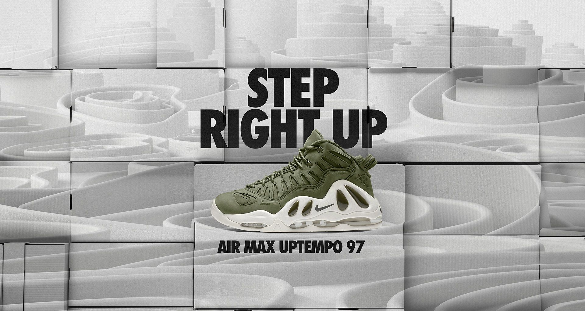 Nike Air Max Uptempo 97 (Urban Haze Urban Haze White)