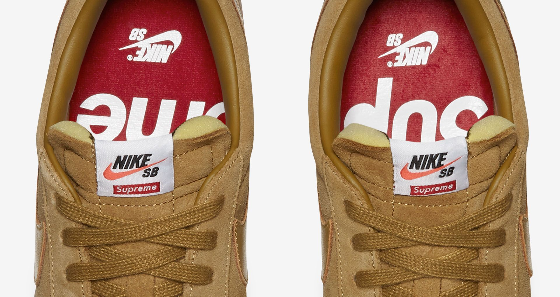 save off e7f9a 65c66 Nike Blazer Low GT x Supreme  Golden Beige  Release Date