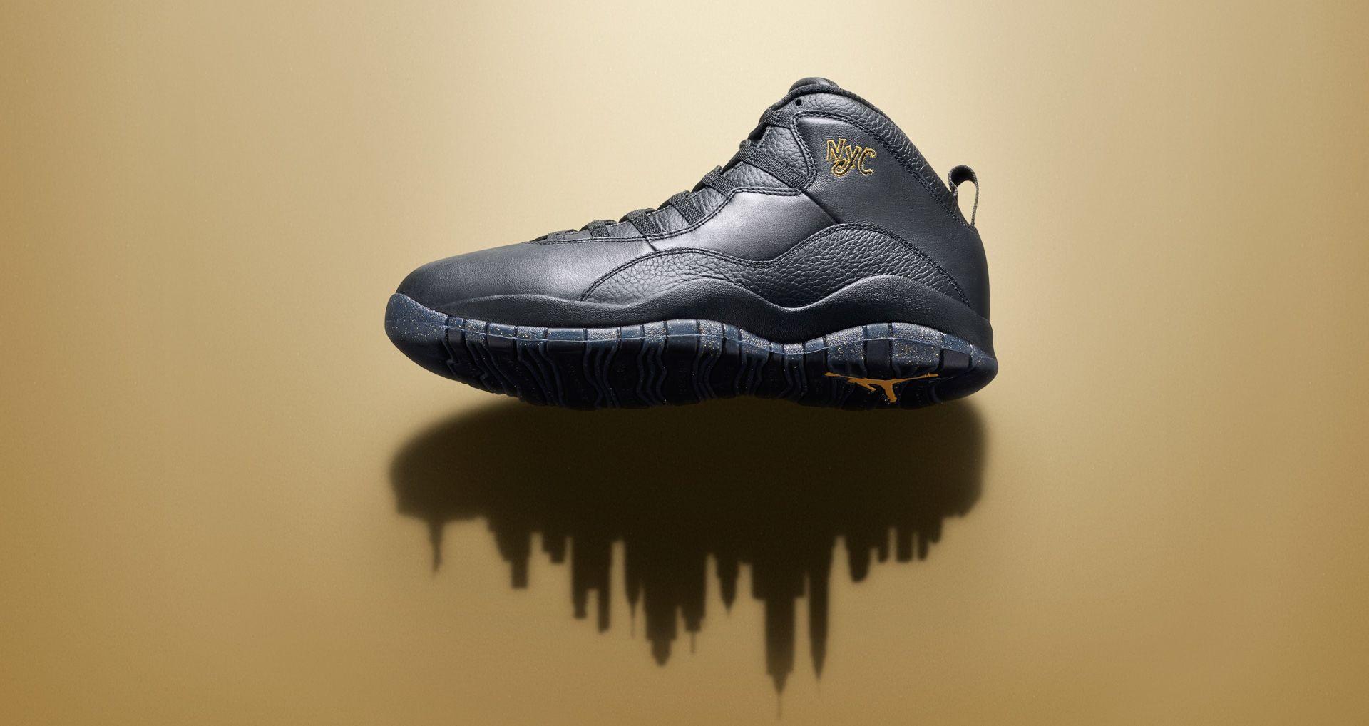 6c38d89b35c3ca Air Jordan 10 Retro  NYC  Release Date. Nike+ SNKRS