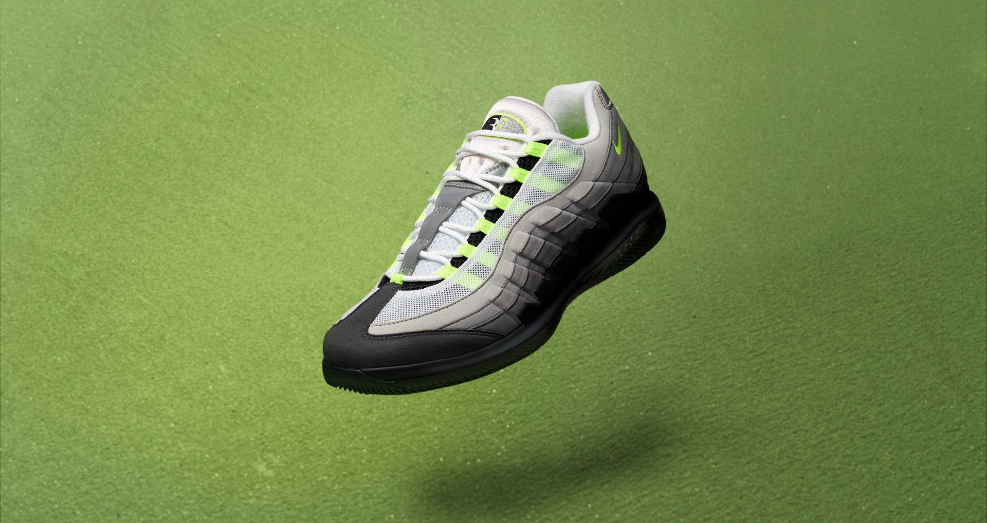 Date de sortie de la NikeCourt Vapor RF x AM95 « Black &
