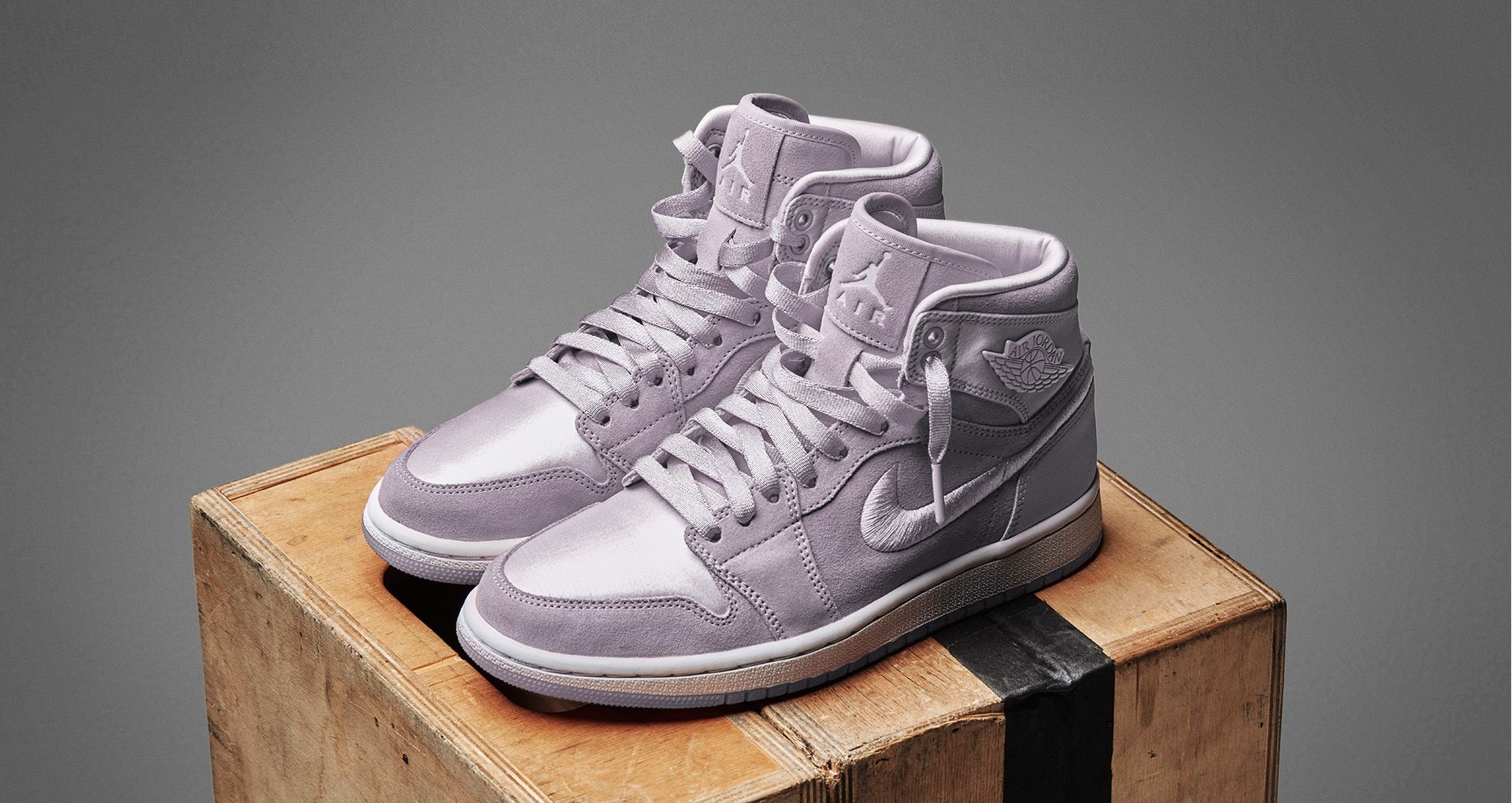 5a412c4a80 Women's Air Jordan 1 Retro High 'Barely Grape' Release Date. Nike⁠+ ...