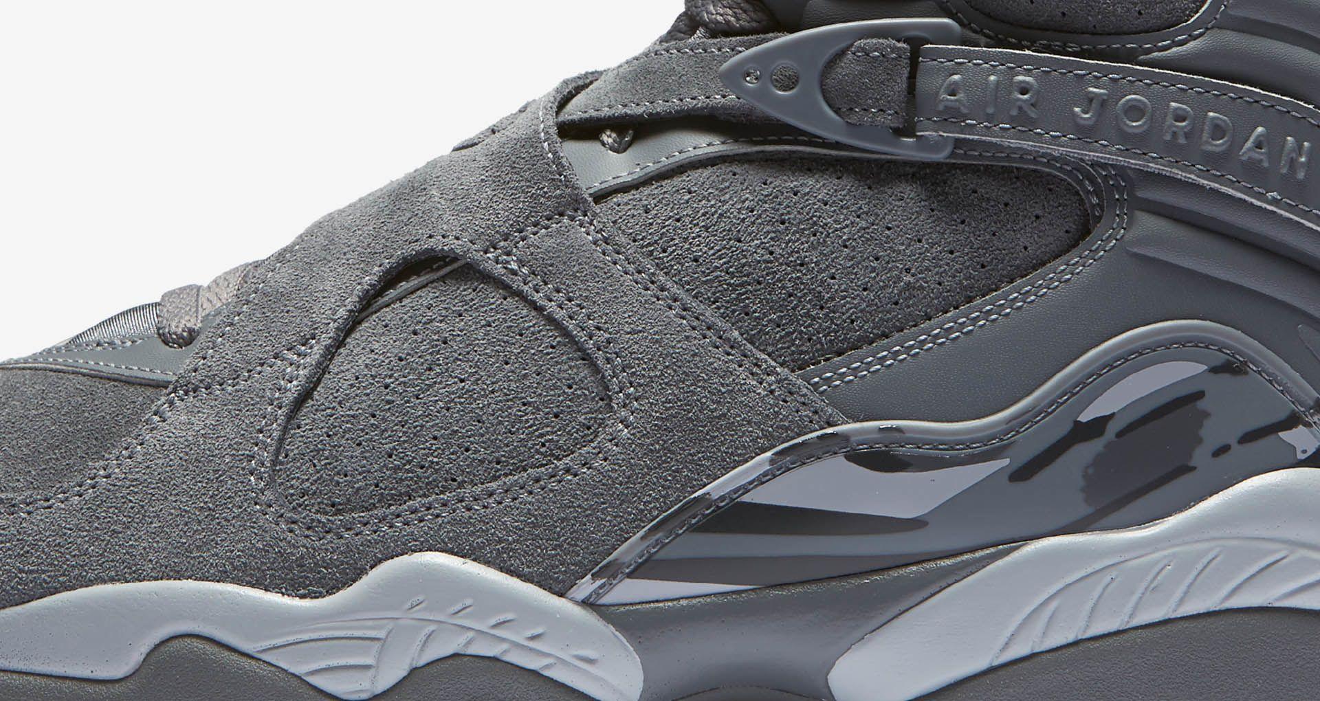 d078751ffd7c55 Air Jordan 8 Retro  Cool Grey  Release Date. Nike+ SNKRS