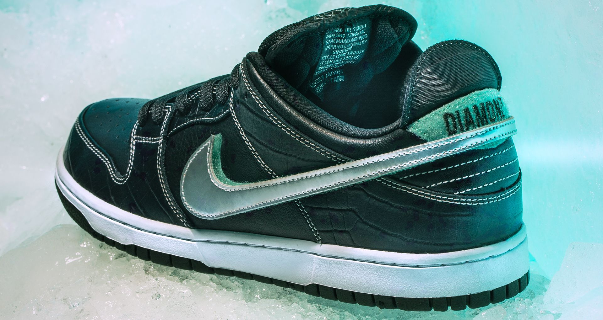 premium selection b9824 1f539 Behind The Design  SB Dunk Low  Diamond