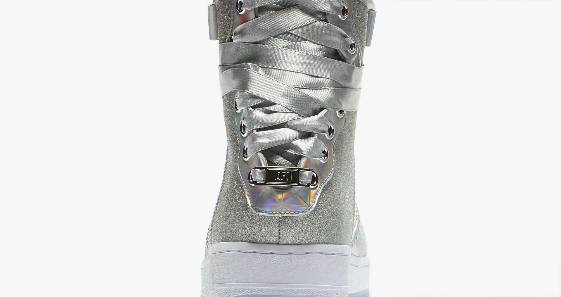 0cb37ee72482 Women s Nike Air Force 1 Rebel XX CNY  Metallic Silver  ...