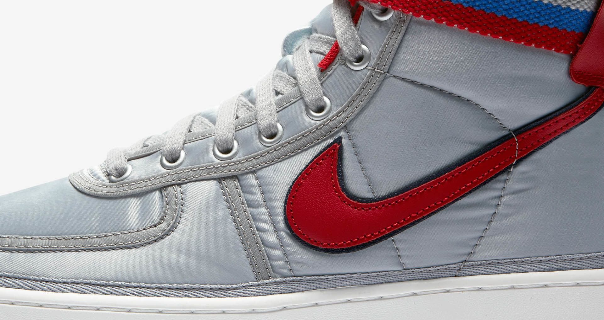 purchase cheap 2e4d6 902b8 Nike Vandal High  Metallic Silver   University Red  Release ...