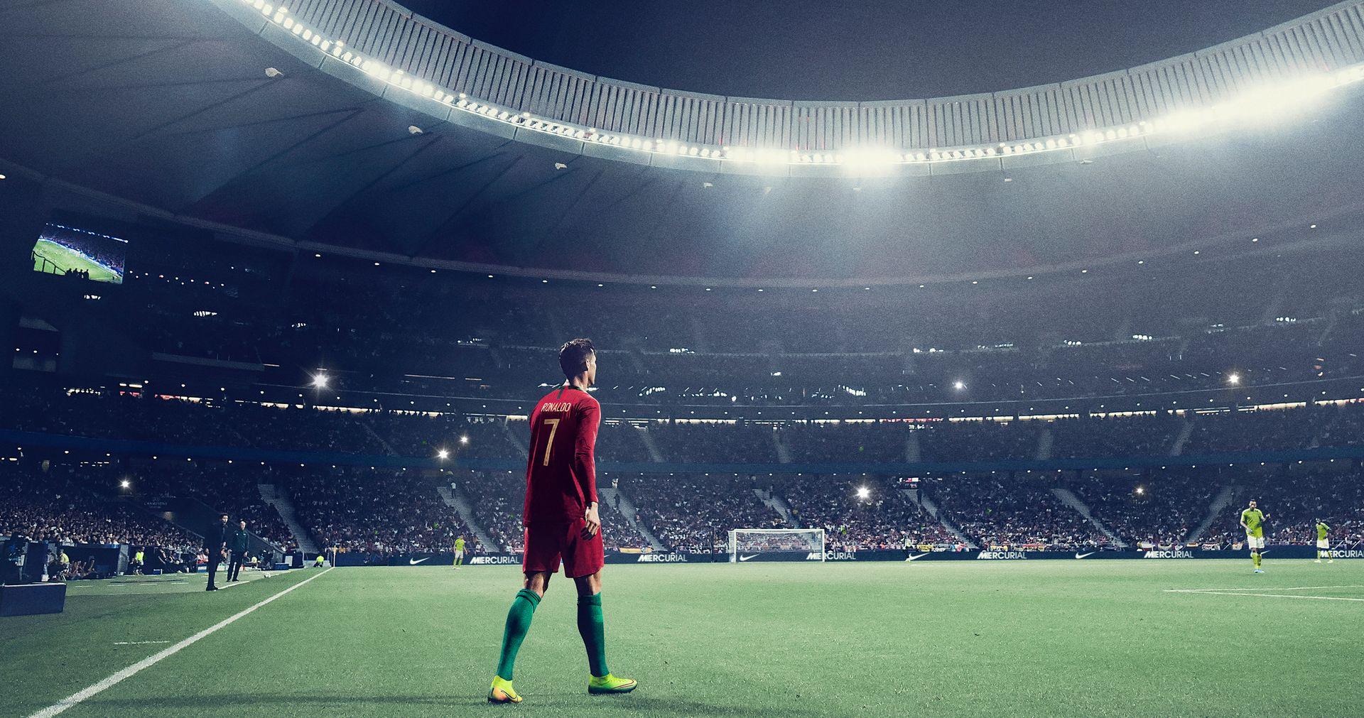 Cristiano Ronaldo Soccer Free Kick Bags Mochila Feminina