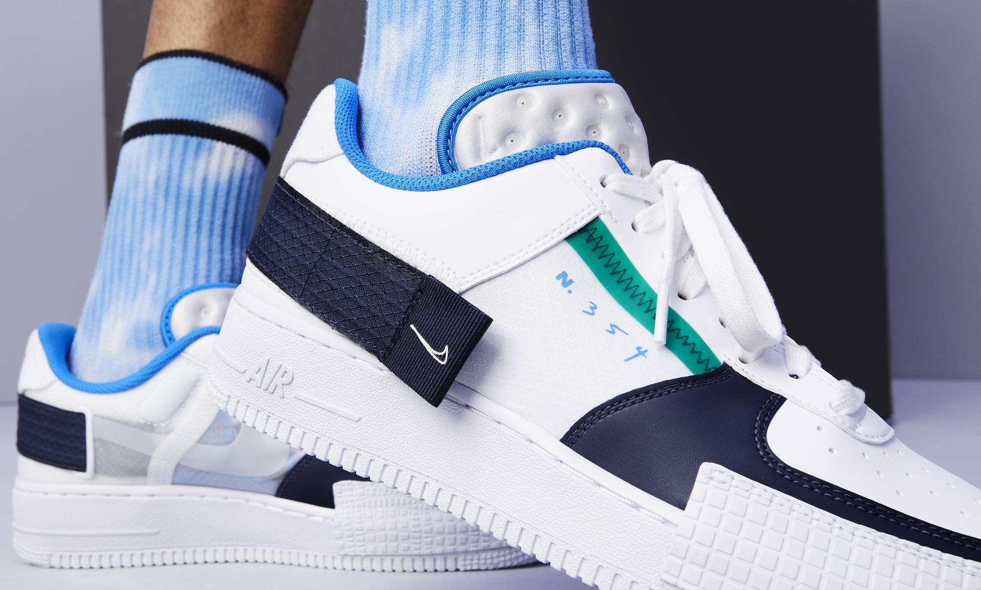 Nike Air Force 1 Type N.354 – White Black | sneakerb0b RELEASES