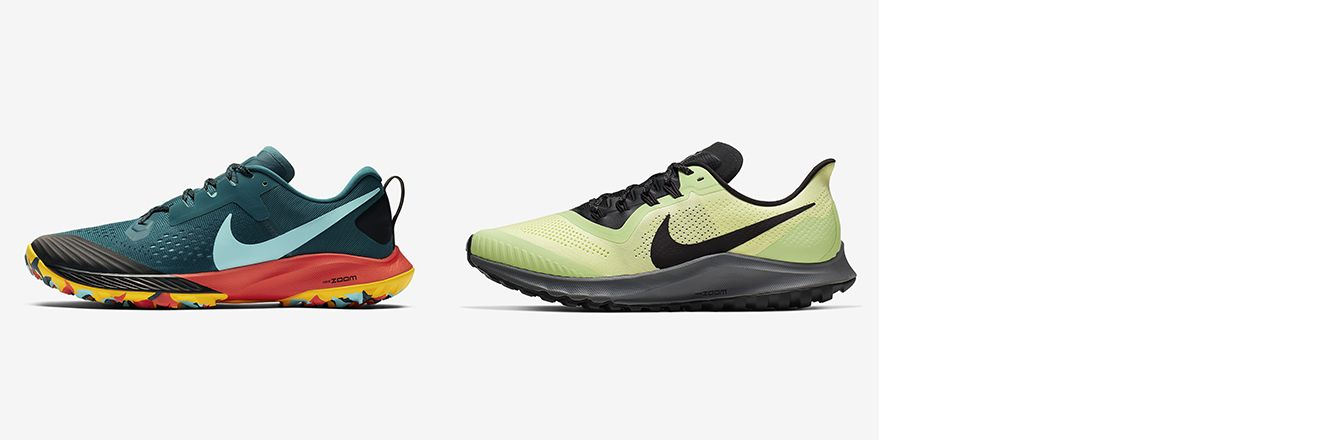 differences between a few nike running shoes –