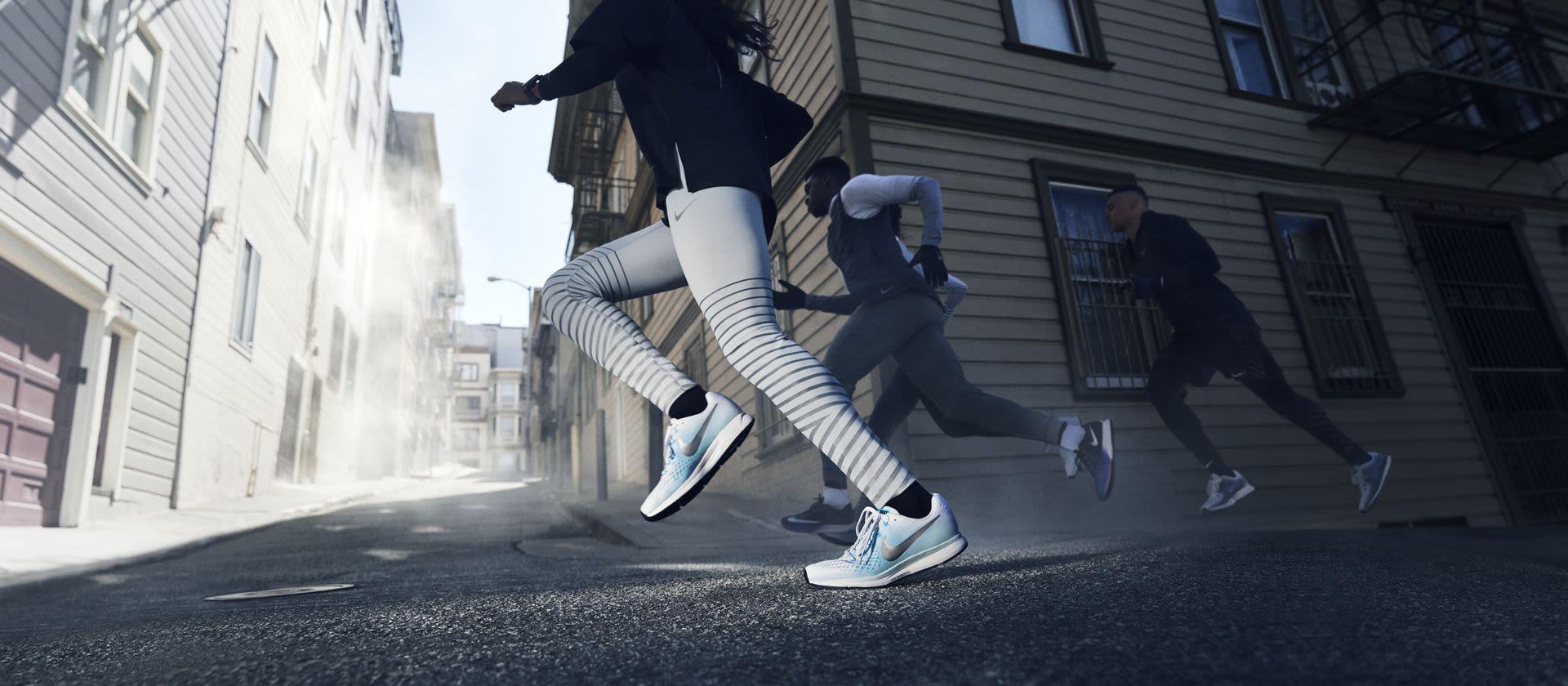 Reklamation: Runners Point Luftpolster des Schuhes Nike Air