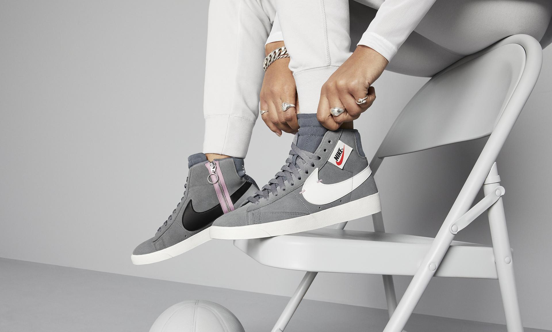 new arrival 30449 6d1e3 Nike Blazer Mid Rebel Women's Shoe. Nike.com