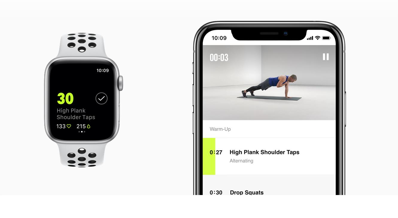 948107e3c7 Apple Watch Nike+ Series 4 (GPS) with Nike Sport Loop 44mm Sport ...