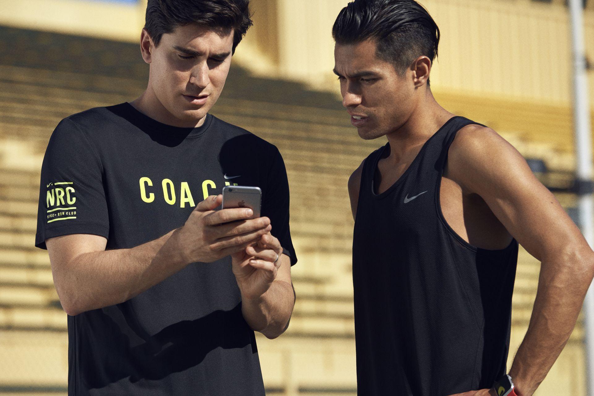 Quais são as minhas opções de personalização na Nike Run