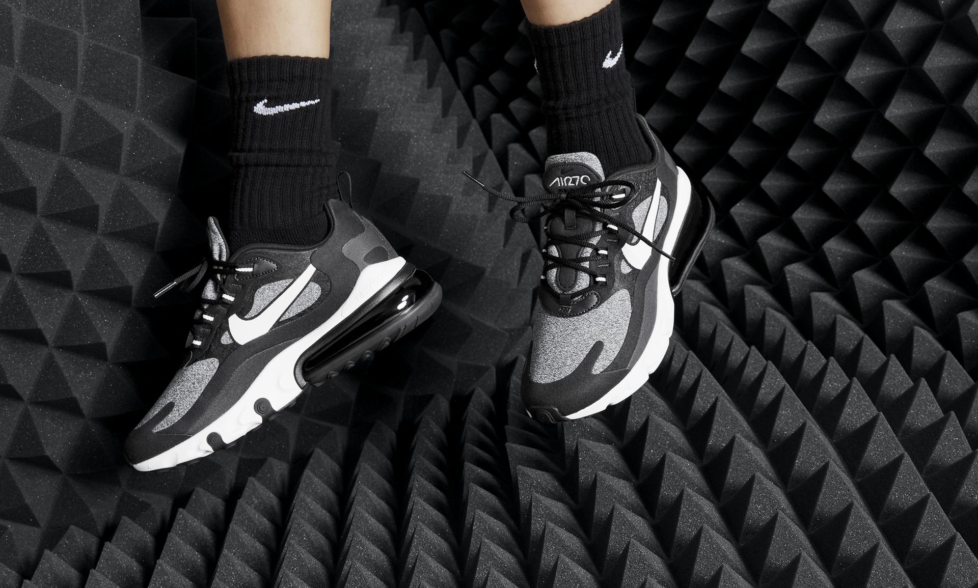 Chaussure Nike Air Max 270 React (Optical) pour Femme