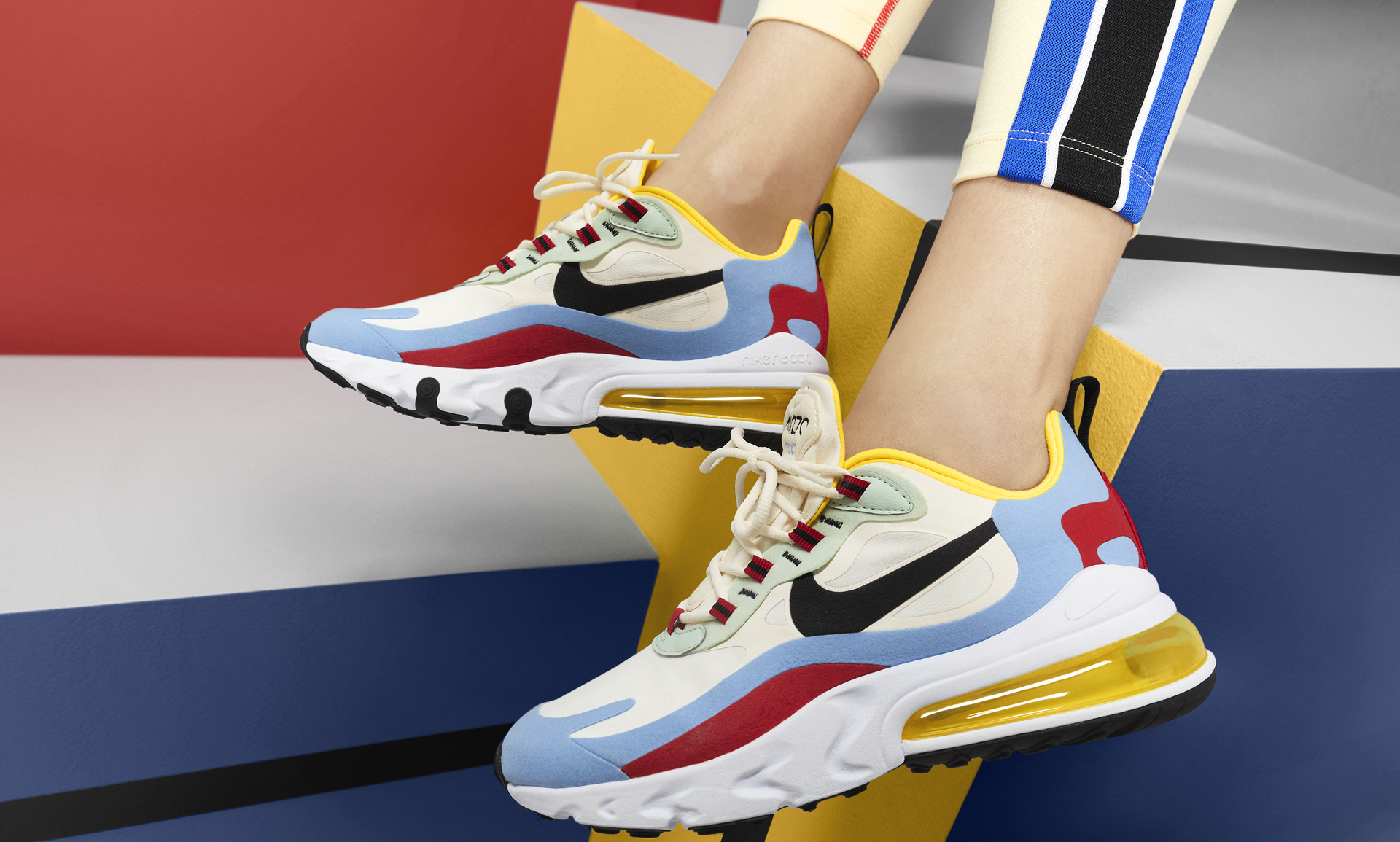 Nike Air Max 270 React WMNS Bauhaus AT6174 002 Release Date
