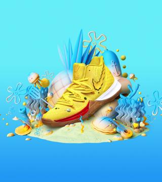 : Nike Kyrie 5 Spongebob Squarepants (Patrick