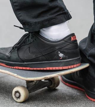 Nike SB Dunk Low Pro 'Panda Pigeon