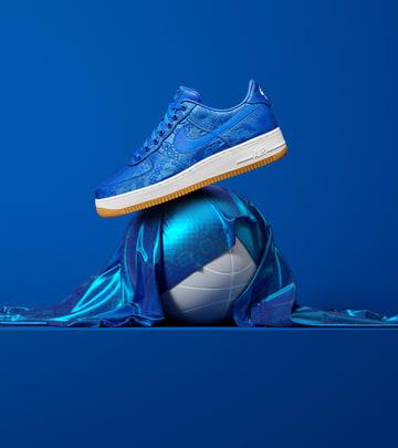 CLOT Nike Air Force 1 Blue Silk | | YoMZansi