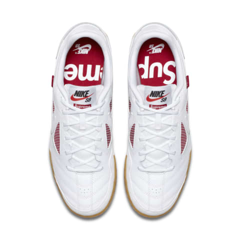 Nike Sb Gato Supreme White Mens