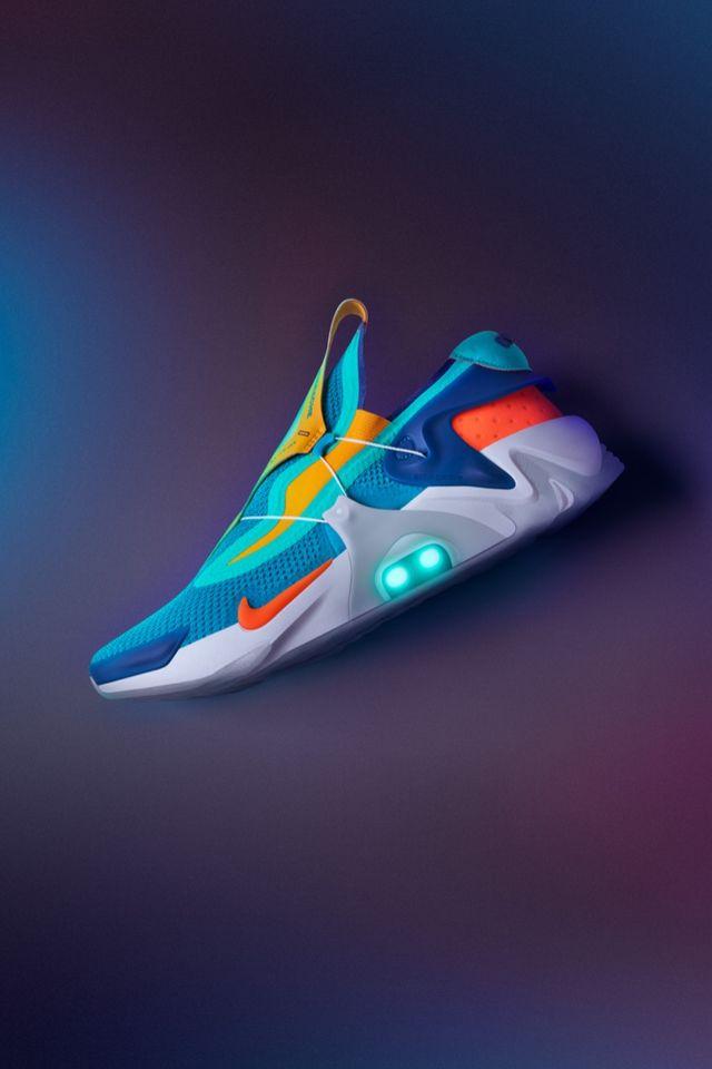 Adapt Huarache \u0027Hyper Jade/Total Orange\u0027 Release Date. Nike