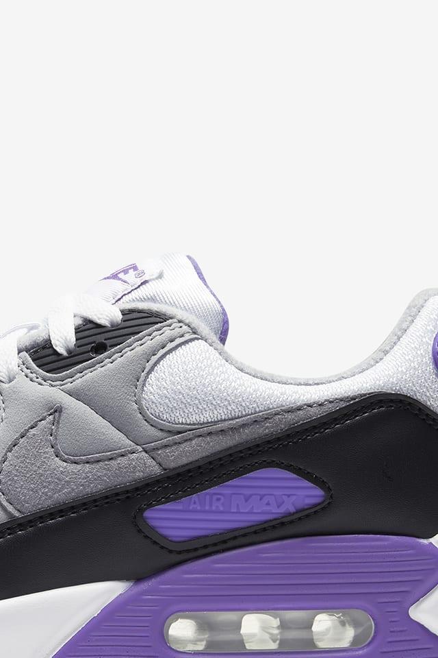 Women S Air Max 90 Hyper Grape Release Date Nike Snkrs