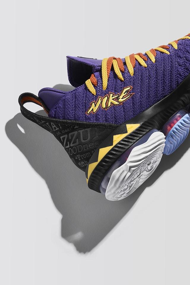 LeBron 16 'Martin' Release Date. Nike SNKRS
