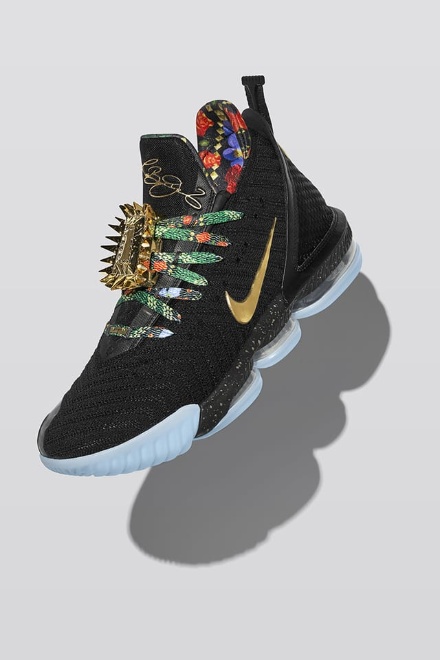 Lebron 16 Watch 'King's Throne' Release