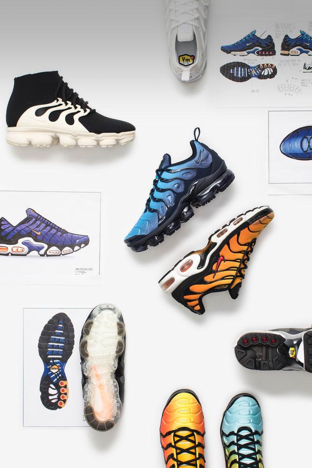 picar esculpir Letrista  Behind The Design: Nike Air VaporMax Plus. Nike SNKRS GB