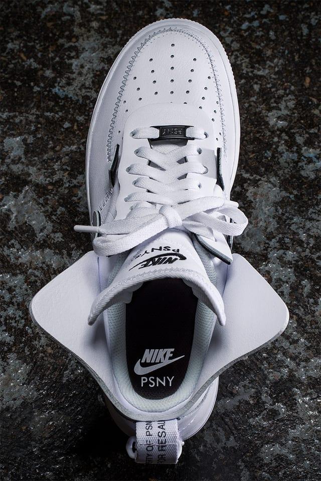 boleto Juntar horario  Behind The Design: PSNY x Air Force 1. Nike SNKRS
