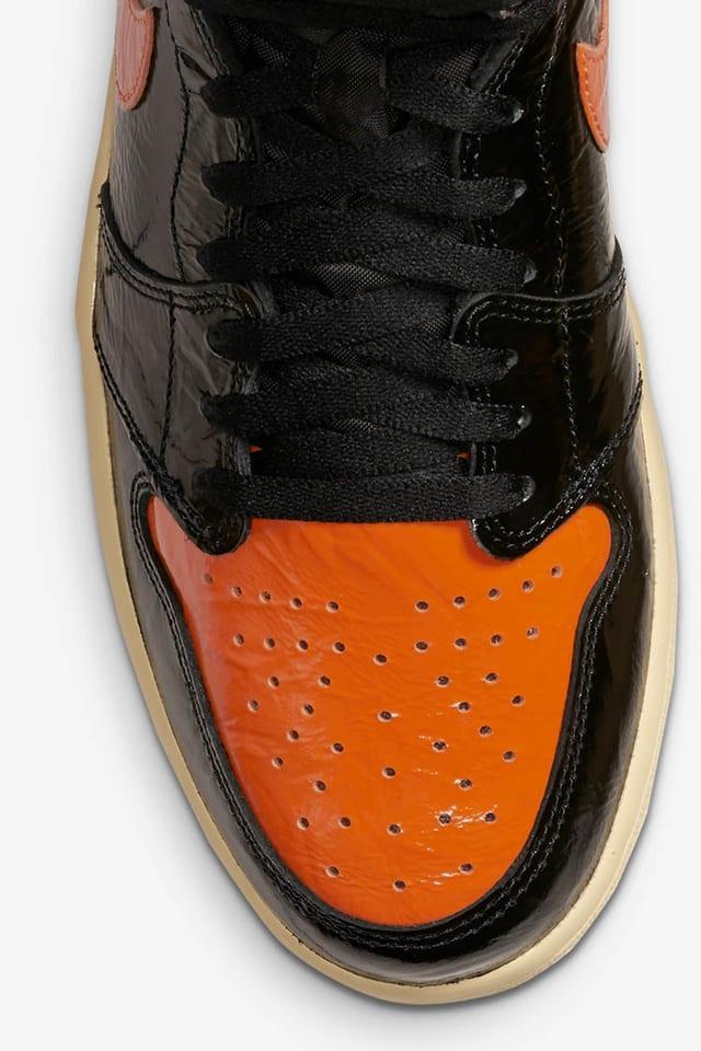 air jordan 1 arancioni e nere