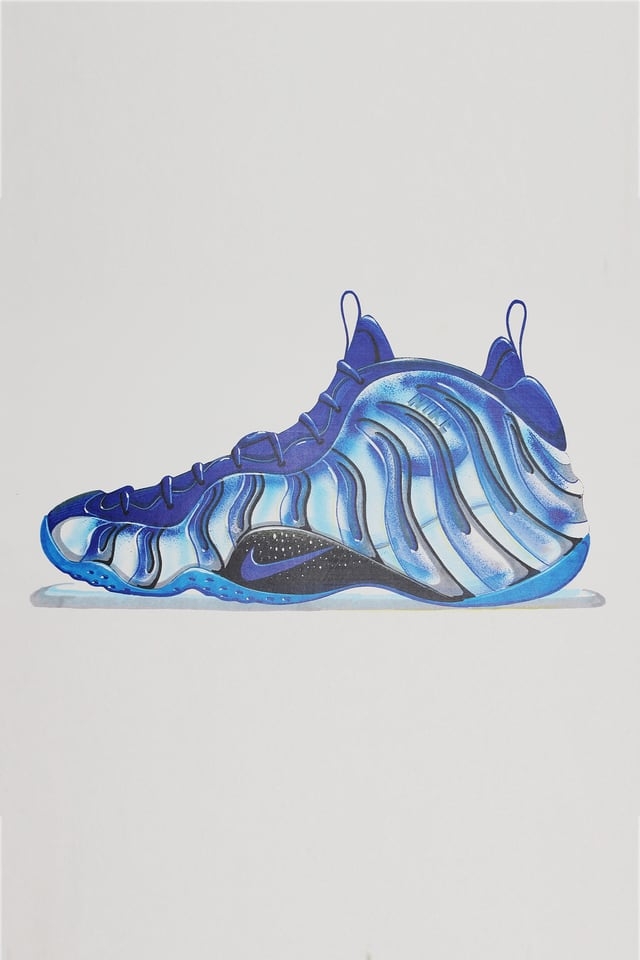 Nike Air Foamposite One Mens 314996405 Midnight Navy ...