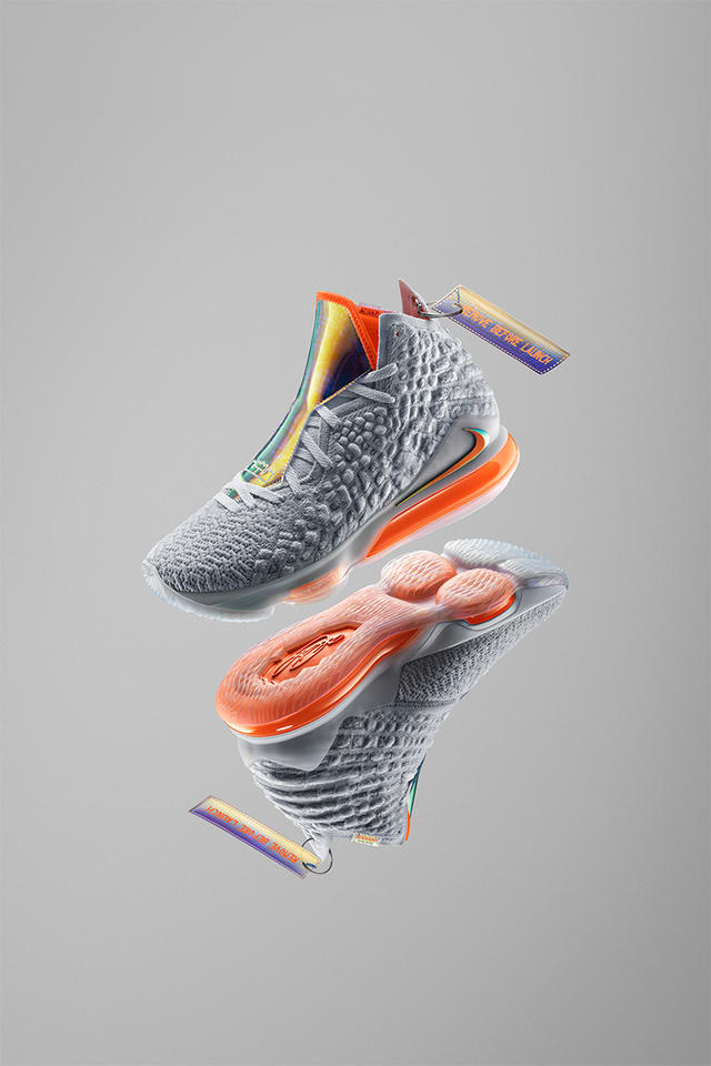 LeBron 17 'Future Air' Release Date. Nike SNKRS