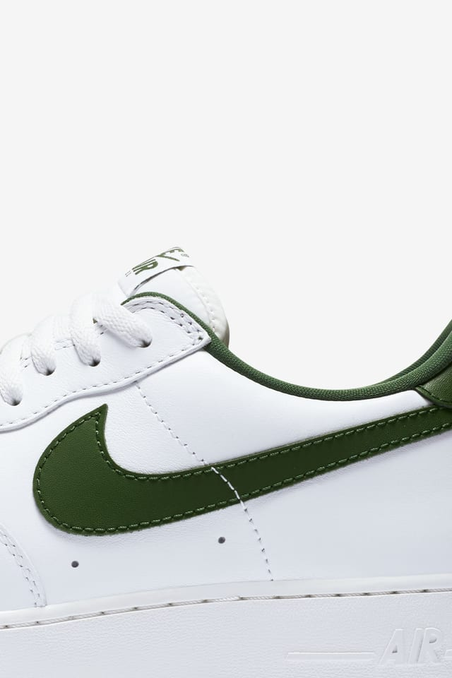 forest green air force ones