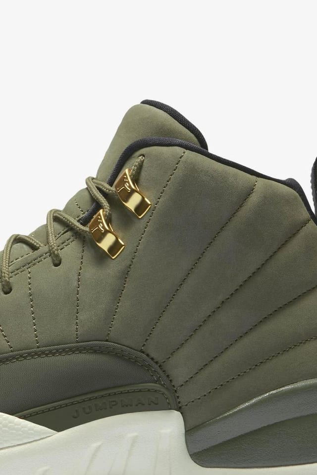Air Jordan 12 Retro 'Olive Canvas