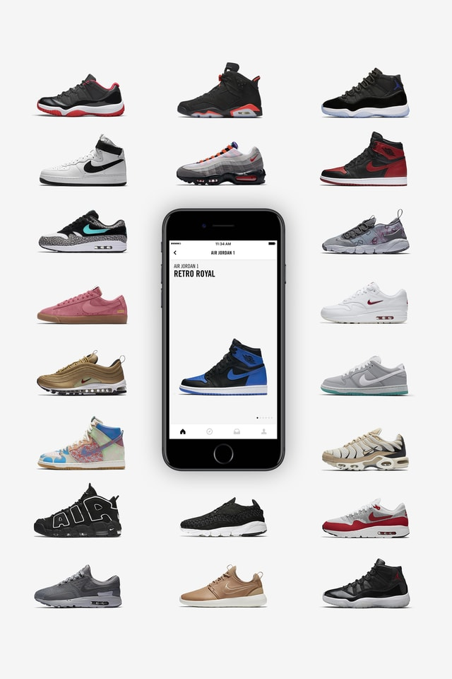 De Nike SNEAKERS app is er. Nike SNKRS NL